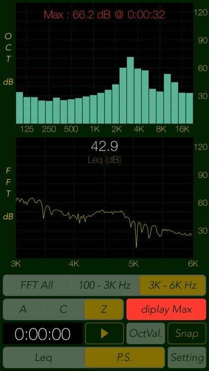Sound Level Analyzer screenshot-5