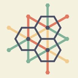 HexPuzzle with ThreeLines