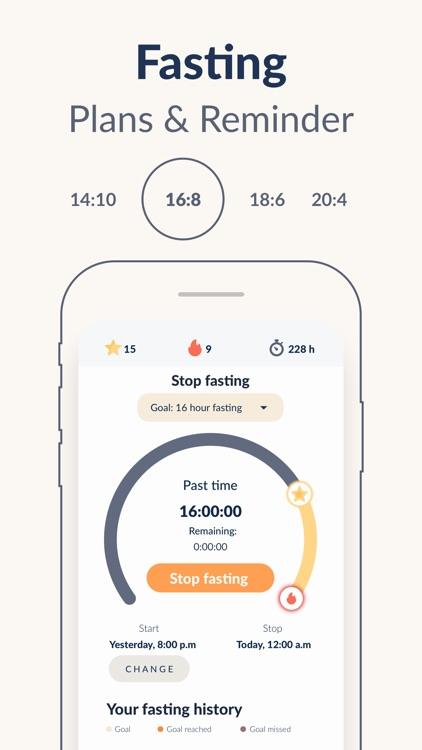 Fastic - Fasting App screenshot-3