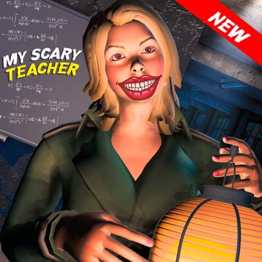 可怕的幽灵般的邪恶老师3D