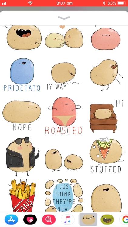 Potato Sticker Pack