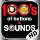 100ボタンの数百人と音着メロ究極のHD icon