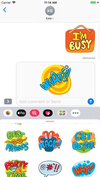 Screenshot for Daily Expressions Emojis in Kuwait App Store