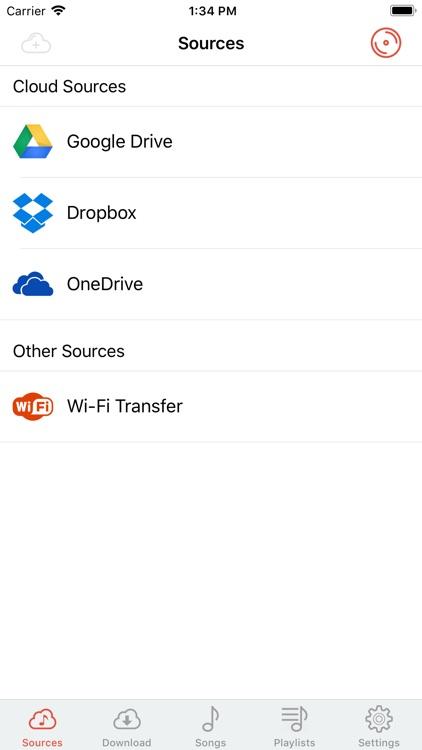 Cloud Music Player - Listener screenshot-3