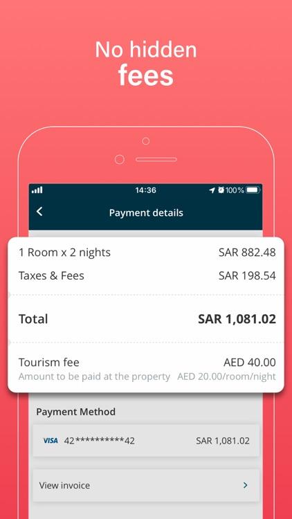 Almosafer: Hotels & Flights screenshot-4