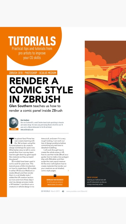 3D World Magazine screenshot-3