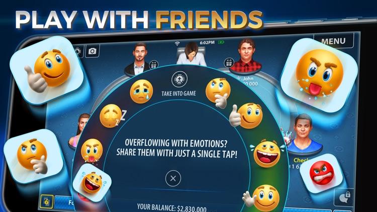 Texas Poker: Pokerist Pro screenshot-3