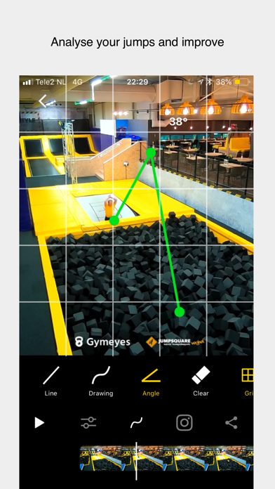Gymeyes - Record your tricks! screenshot four