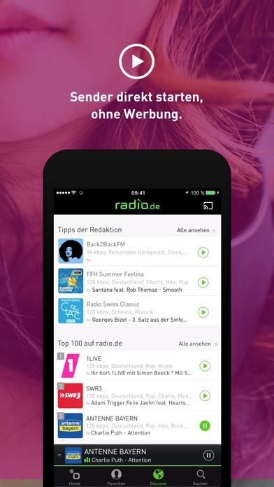 Screenshot for radio.de PRIME in Germany App Store