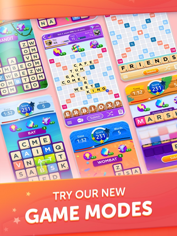 Scrabble® GO - New Word Game screenshot