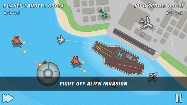 Planes Control - Land & Fight screenshot-4