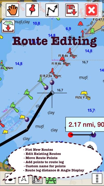 i-Boating:Germany Marine Chart screenshot-3