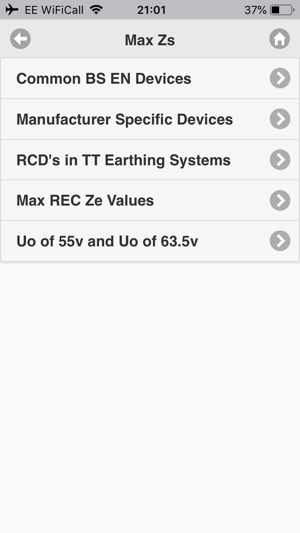 ‎Electrical Tools and Reference Screenshot