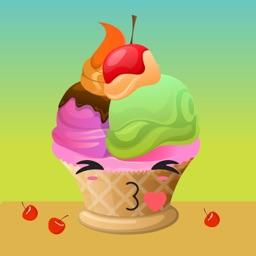Sweet Summer Ice Cream Sticker