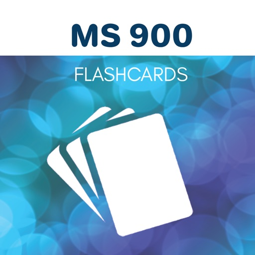 MS 900 Flashcards