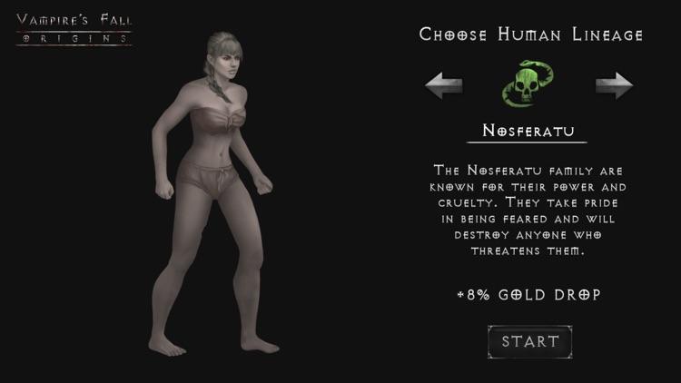 Vampire's Fall: Origins RPG screenshot-0