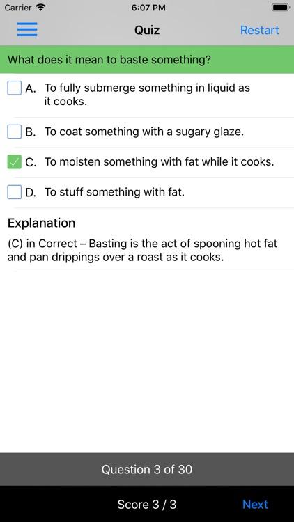 CIA Cooking Methods Volume 1 screenshot-5
