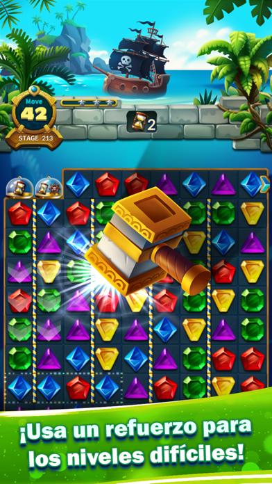 Jewels Fantasy Legend - Match3Captura de pantalla de3