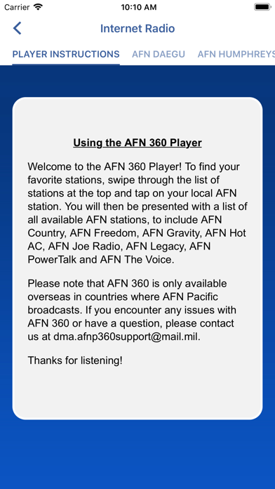 messages.download AFN Pacific software
