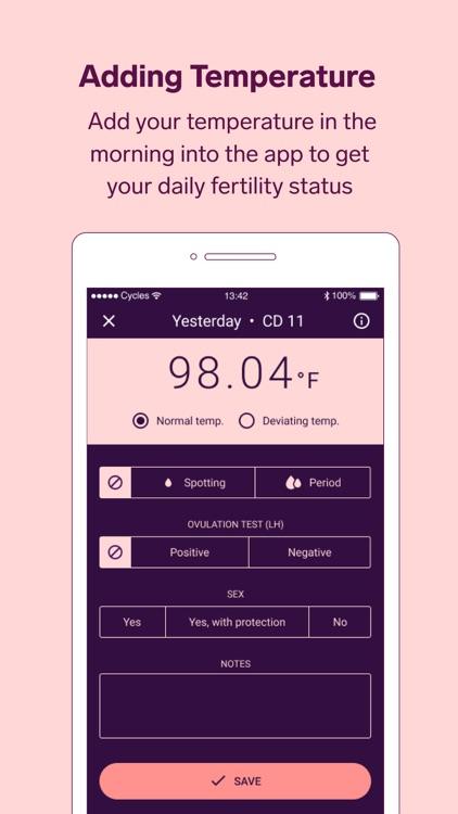 Natural Cycles - Birth Control screenshot-4