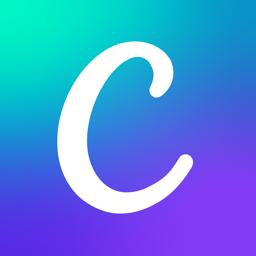 Ícone do app Canva: Editor de Vídeo e Fotos