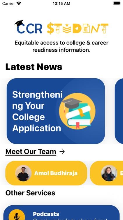 CCR App screenshot-8