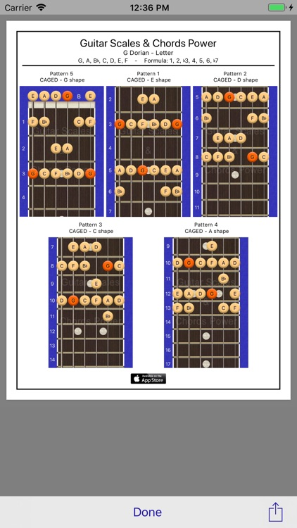 Guitar Scales & Chords Power screenshot-4