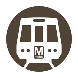 Washington DC Metro Route Map