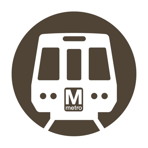 Washington DC Metro Route Map iOS App