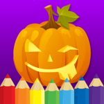 Målarbok : Halloween на пк