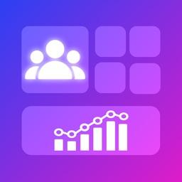 Social Widget Pro ++ Counter