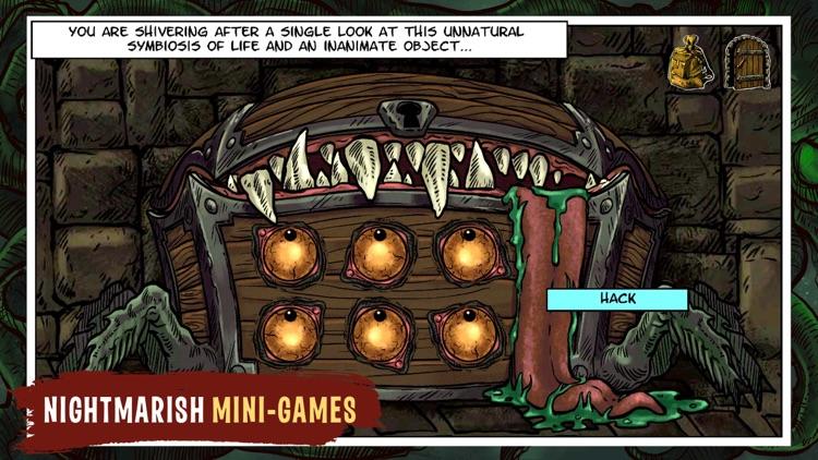 Lovecraft Quest - A Comix Game screenshot-0
