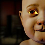 这 婴儿 沃克 在 黑暗的 房子