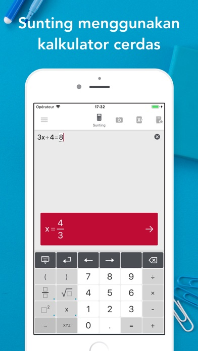 Screenshot for Photomath in Indonesia App Store