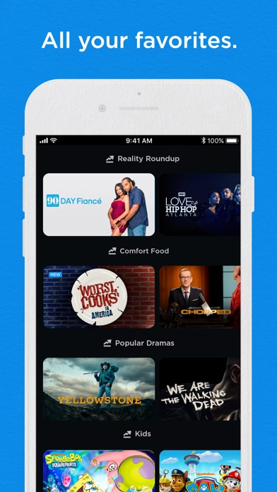 Philo: Live & On-Demand TV Screenshot