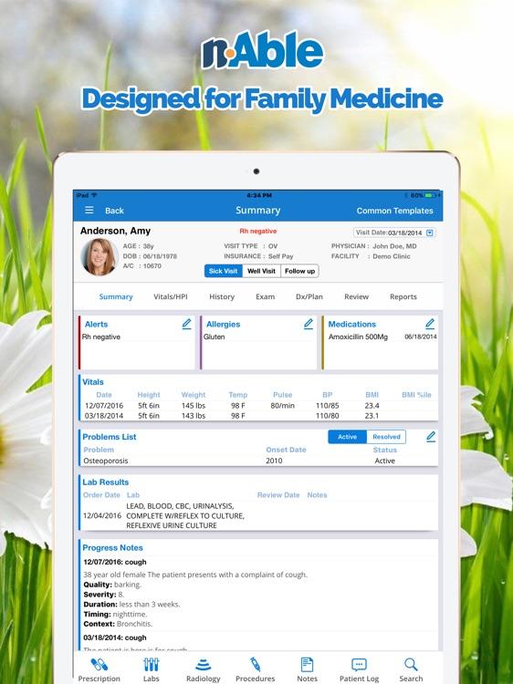 nAble Family Medicine EMR