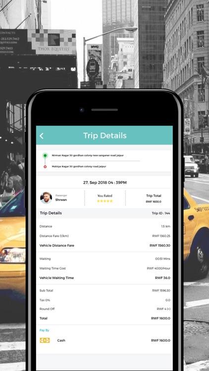 TaxiRWA Driver screenshot-4