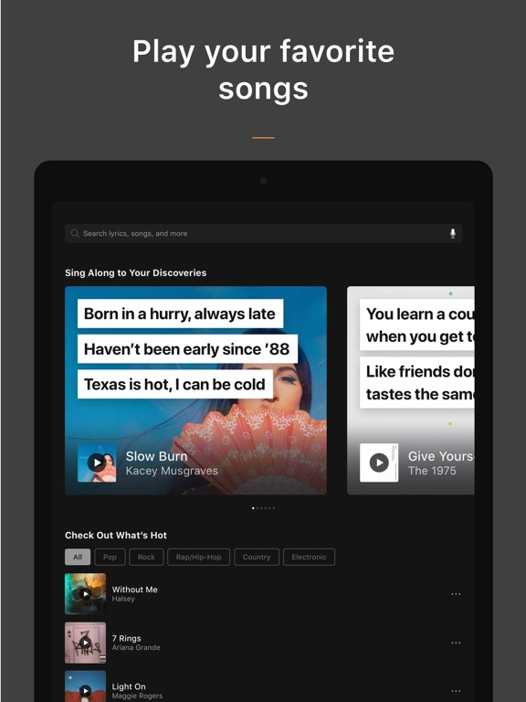 SoundHound ∞ screenshot