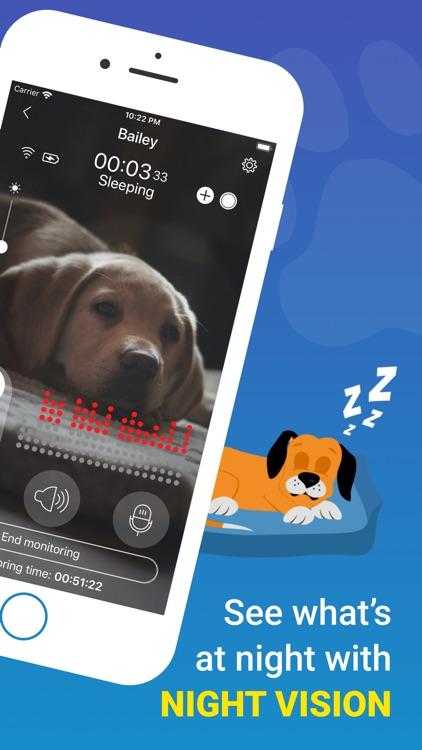 Dog Monitor: Pet Watch Cam screenshot-4