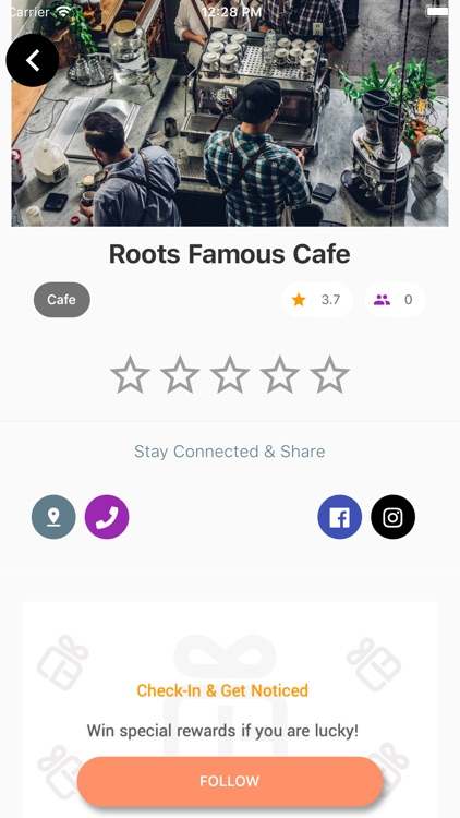 CarrotBox Rewards App