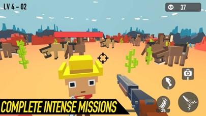 Block Shooting Hero - Gun Game