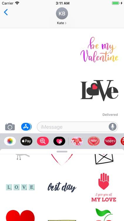 Happy Valentines Day! Stickers
