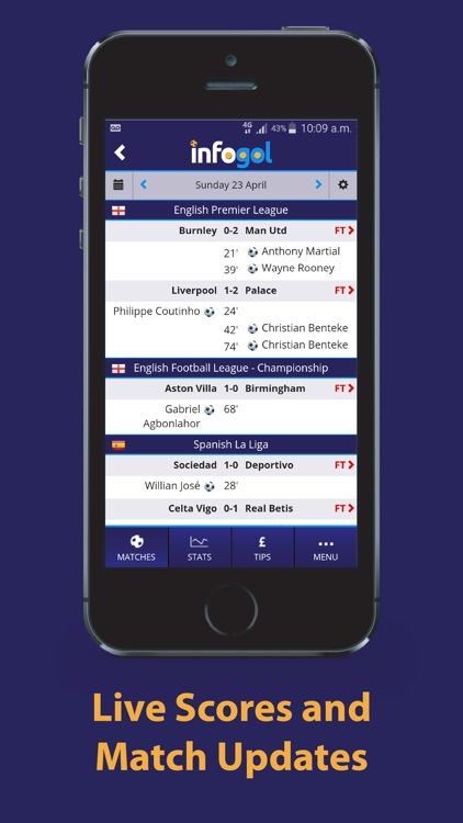 Infogol – Expected Goals App screenshot-3