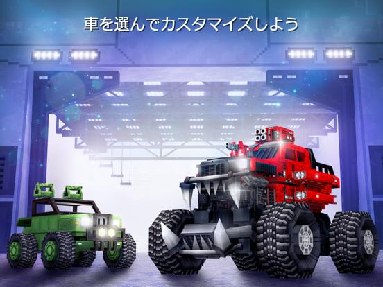 Blocky Cars: 銃撃ゲームと戦車と車のおすすめ画像6