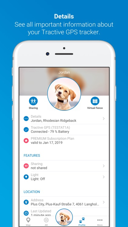 Tractive GPS for Dogs and Cats screenshot-4