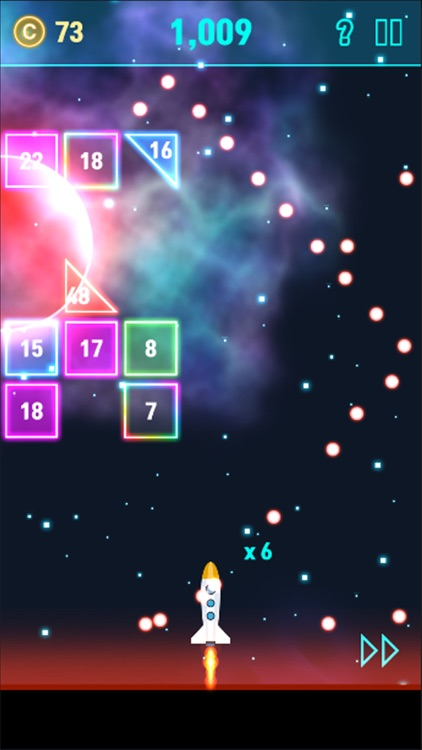 NeonSpace: Brick Breaker Plane screenshot-5