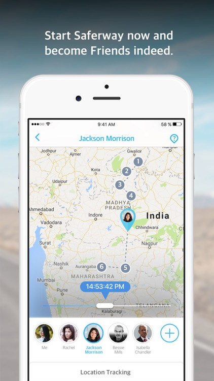 Family Locator - Saferway screenshot-4