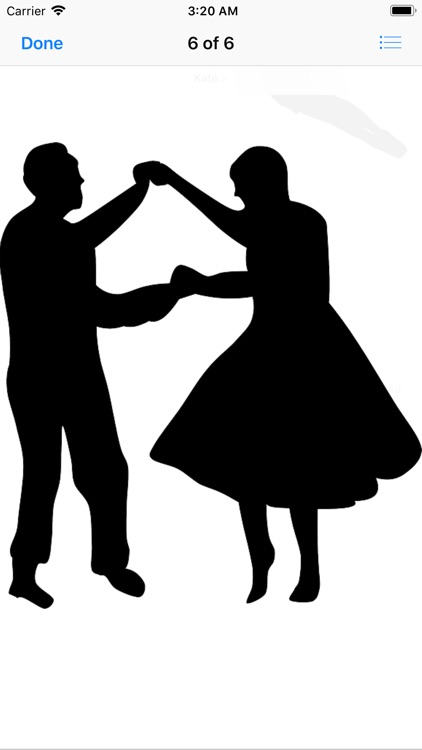 Dance Silhouette Stickers screenshot-6