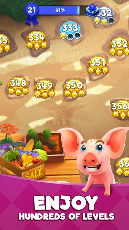 Farm Slam - Match 3 & Build screenshot-5