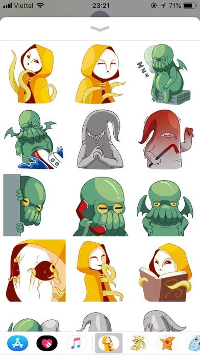 Alien Cute Pun Funny Stickers screenshot 1
